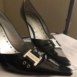 Women's size 8 BCB Girls Black Paten Leather shoes